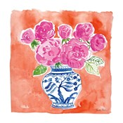 Chinoiserie Roses I