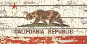 Vintage California Sate Flag