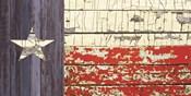 Vintage Texas State Flag