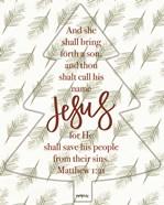 Call His Name Jesus