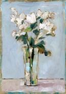 White Floral Arrangement I