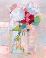 Abstract Flowers in Vase I
