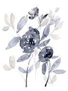 Peonies in Grey I