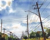 Urban Lines & Poles III
