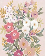Pretty Pink Floral I