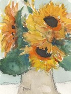 Rustic Sunflowers I