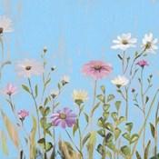 Wild Flowers on Cerulean I