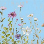 Wild Flowers on Cerulean II