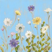 Wild Flowers on Cerulean III