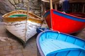 Italy, Riomaggiore Colorful Fishing Boats