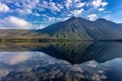 Stanton Mountain Over A Calm Lake Mcdonald In Glacier National Park, Montana