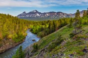 The South Fork Of The Two Medicine River In The Lewis And Clark National Forest, Montana