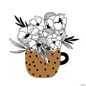 Mustard Flower Mug