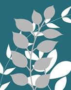 Teal Foliage I