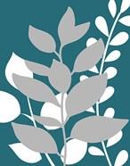 Teal Foliage II