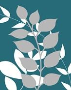 Teal Foliage III