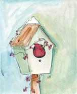 Birdhouse Cardinal