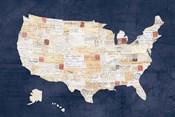 Vintage USA on Indigo