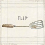 Floursack Kitchen Sign I Neutral Sq