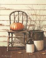 Pumpkin & Chair