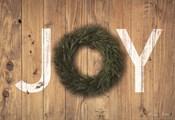 Joy Cedar Wreath