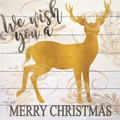 We Wish You a Merry Christmas Deer
