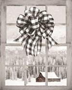 Christmas Barn with Bow