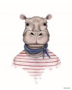 Hippo in Handkerchief