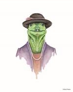 Iguana in Sunday Best