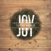 Joy to the World with Wreath