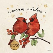 Christmas Lovebirds IX