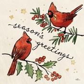 Christmas Lovebirds X