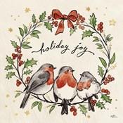 Christmas Lovebirds IV