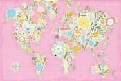 Floral World Pink