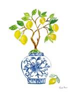 Lemon Chinoiserie II