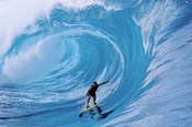 Man Surfing In The Sea