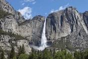 View Of Yosemite Falls In Spring, Yosemite National Park, California