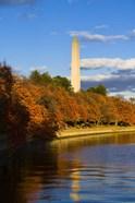 Reflection Of Monument On The Water, The Washington Monument, Washington DC