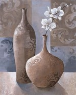 Silver Orchids I