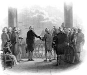 1789 Inauguration Of George Washington As First President Of The USA