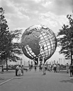 1964 New York World's Fair Unisphere Flushing Meadows NY