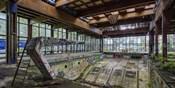 Abandoned Resort Pool, Upstate NY (detail)