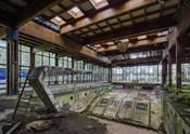 Abandoned Resort Pool, Upstate NY