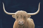 Highland Cow Navy