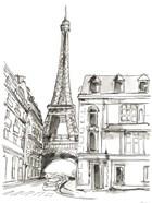 Pen & Ink Travel Studies I