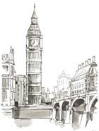 Pen & Ink Travel Studies II