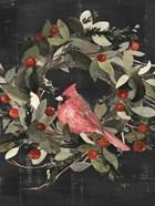 Christmas Cardinal I