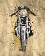 Metallic Rider I