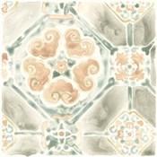 Terracotta Garden Tile III