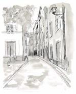 European City Sketch IV